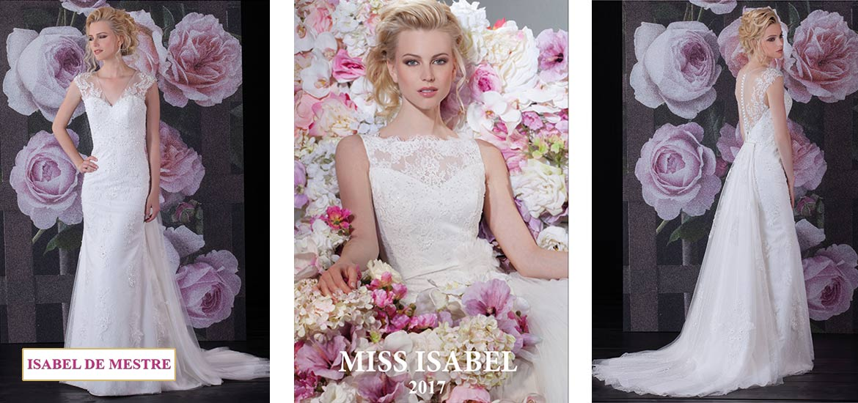 Hochzeitsausstatter Rehr Isabel de Mestre Brautkleider